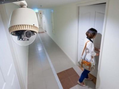 Câmera de segurança para residência