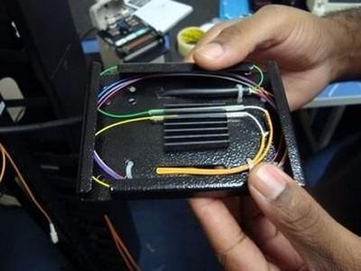 Empresa de fusão de fibra óptica
