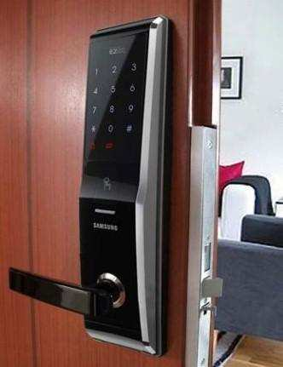 Fechadura biométrica para empresa