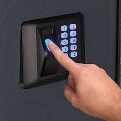 Fechadura biométrica sp