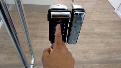 Fechadura eletrônica para porta