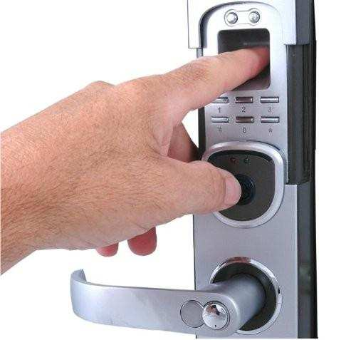 Leitor biométrico para fechadura