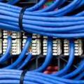 Cabeamento de rede de internet