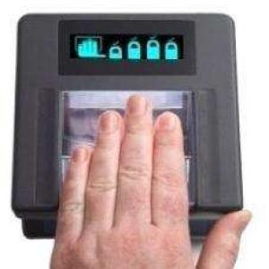Leitor biométrico digital
